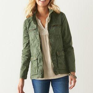 Sonoma- Green Utility Jacket